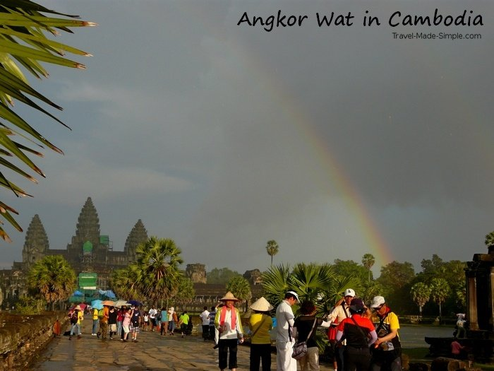 is traveling safe? Angkor Wat Cambodia