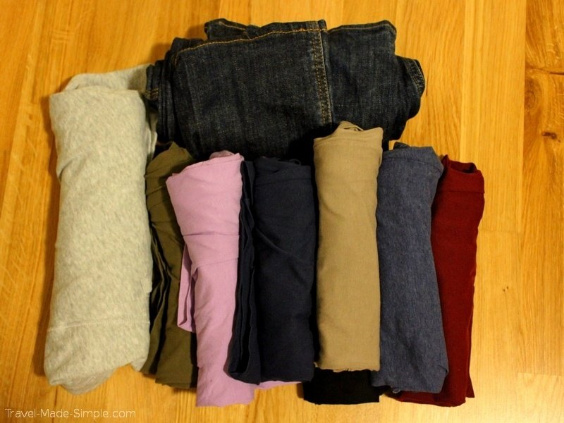 clothing packing tips for carry-on only travel