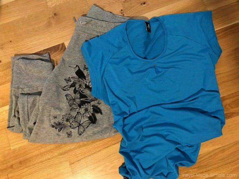 flight prep - comfy clothing