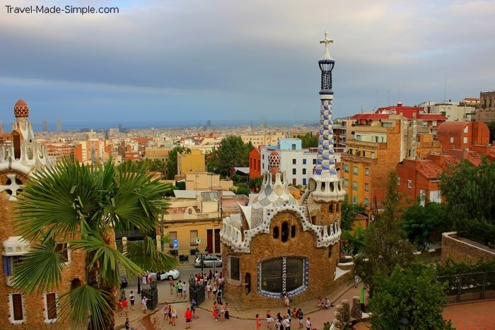 Travel slow and see more - Barcelona, Spain, Guell Park