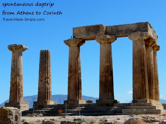 Are You Afraid to Travel Alone? - Corinth, Greece