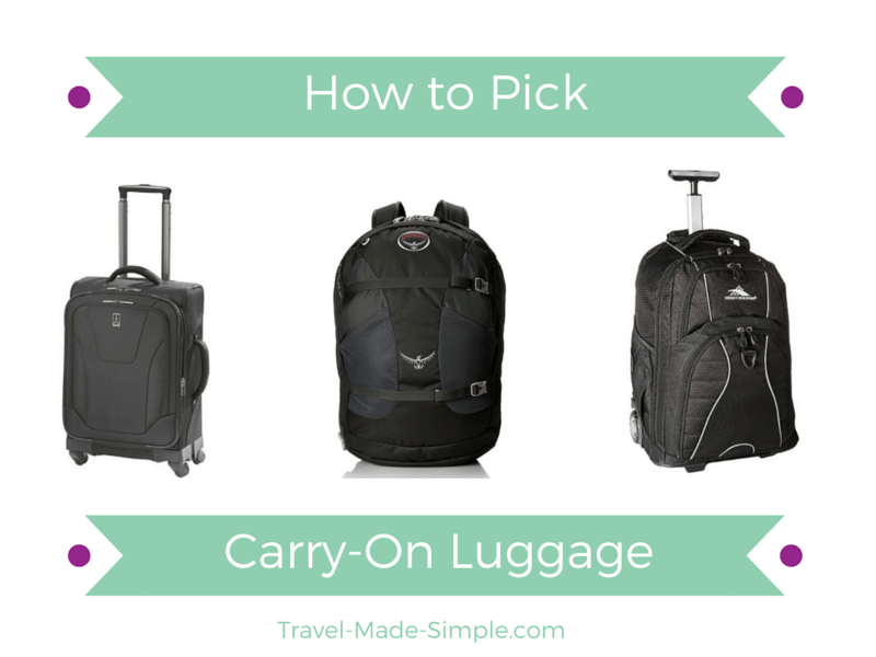 How to Pick Carry-On Luggage