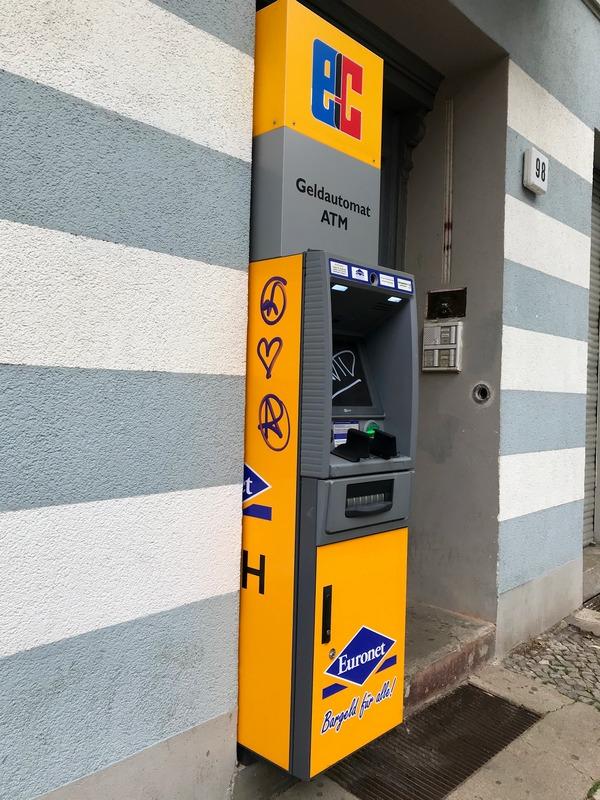 non bank ATM in Berlin
