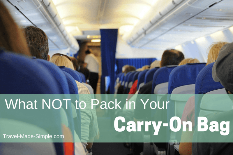 What not to pack in your carry on bag travel made simple How to pack a carry on suitcase video