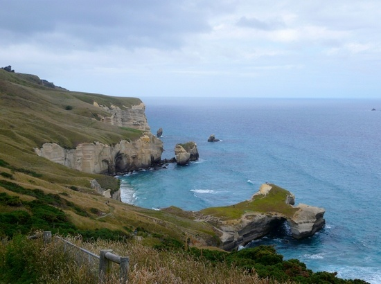 Tunnel Beach Dunedin New Zealand