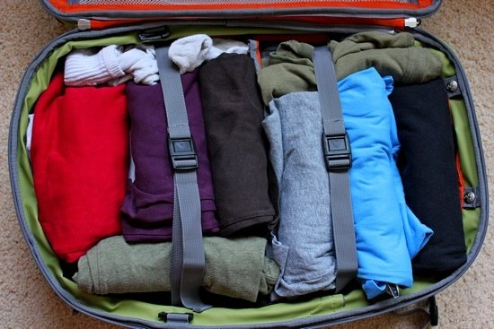 hand luggage only - suitcase
