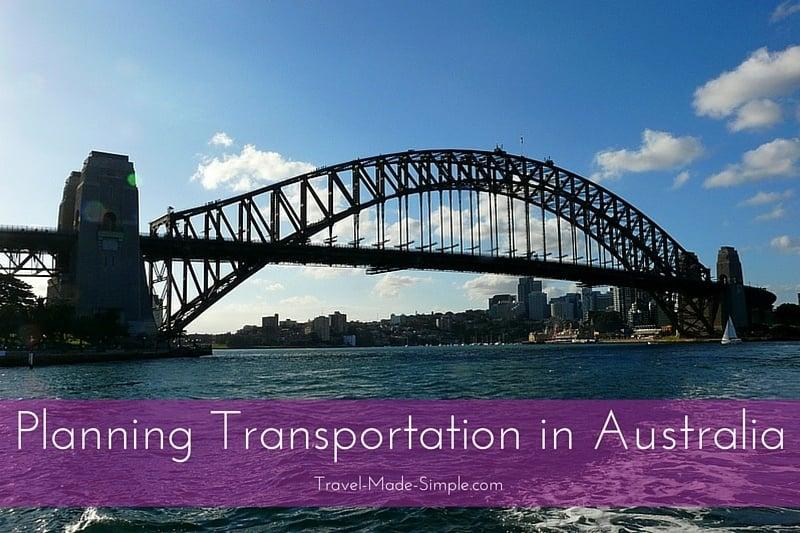 Planning Transportation in Australia