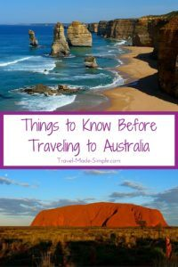 Things to Know Before Traveling to Australia