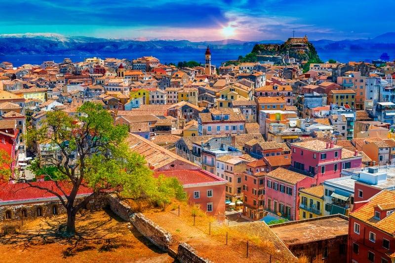 Corfu one week in Greece itinerary
