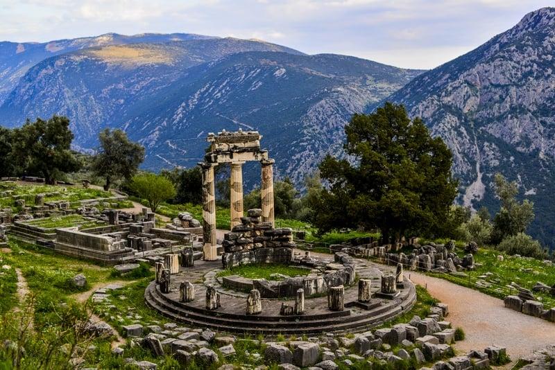 Delphi one week in Greece itinerary