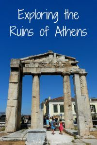 Exploring the Ruins of Athens