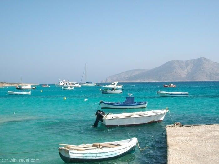 island hopping in Greece
