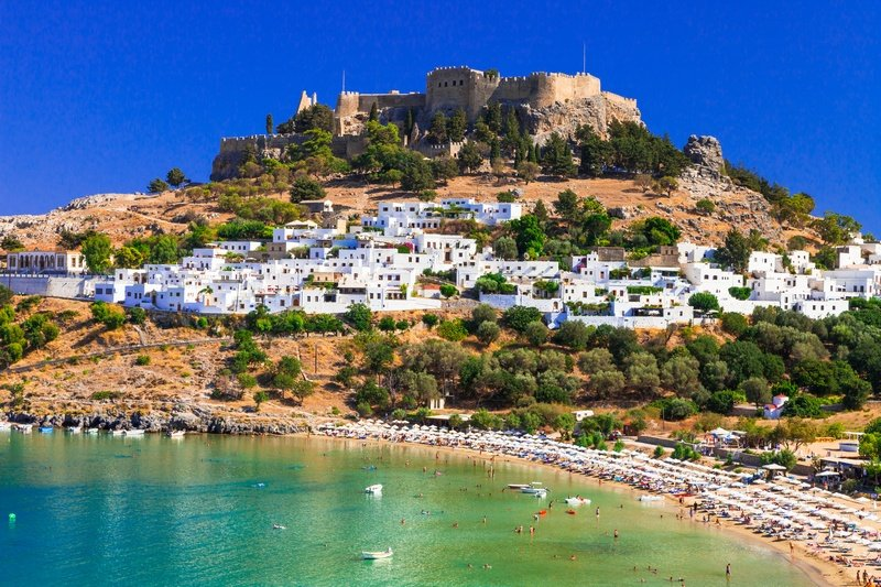 Rhodes one week in Greece itinerary