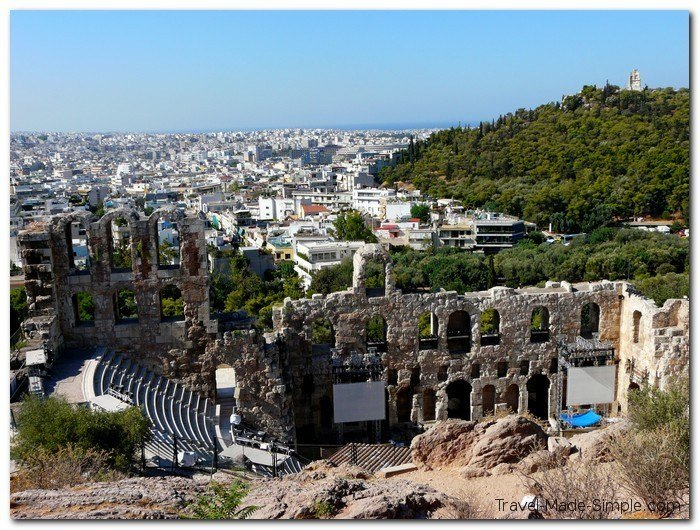 ruins of Athens