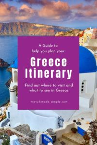 We've put together our best tips and trips into one guide to help you plan your Greece itinerary. Check out our tips to see the best things to do in Greece in one or two weeks. one week in Greece | two weeks in Greece | travel to Greece | Greece travel planning tips