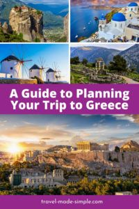 Greece is one of the most beautiful countries in Europe, no wonder it's so popular! Use our guide to planning your trip to Greece so you don't miss a thing. one week in Greece | two weeks in Greece | travel to Greece | Greece travel planning tips