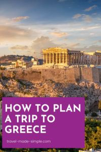 Sunshine, food, history...all this and more can be found in Greece! Read our guide for how to plan a trip to Greece and start creating your perfect Greece itinerary. one week in Greece | two weeks in Greece | travel to Greece | Greece travel planning tips