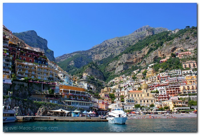 what to do on the Amalfi Coast - Positano, Italy