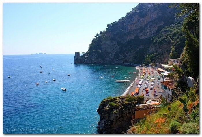 where to go on the Amalfi Coast, Italy itinerary - Positano