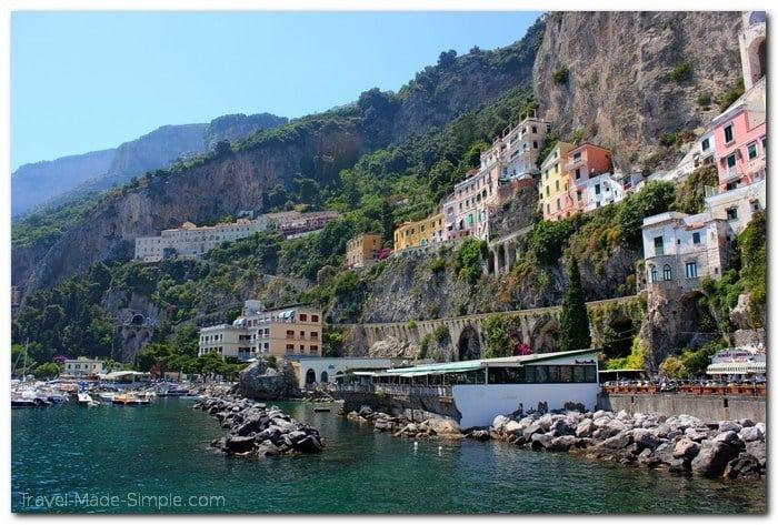 Amalfi Coast itinerary - Amalfi Town