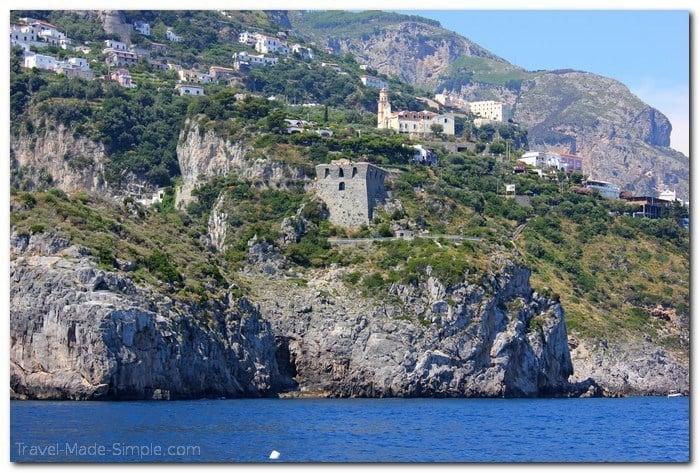 how to see the Amalfi Coast, Italy itinerary