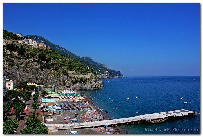 where to stay on the Amalfi Coast, Italy  - Amalfi Coast itinerary
