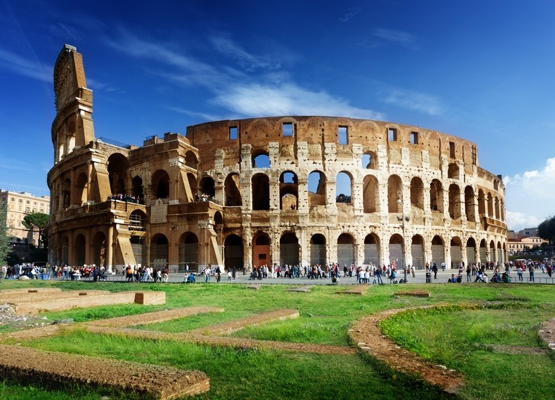 Rome Colosseum best cities in the Mediterranean