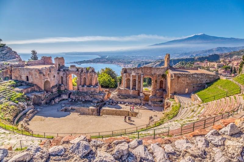 Taormina Sicily one week in Italy itinerary
