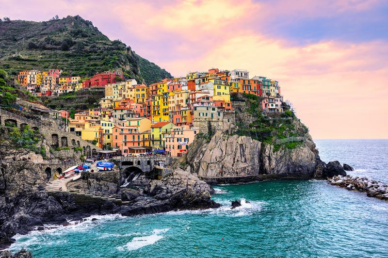 how to visit Cinque Terre Italy