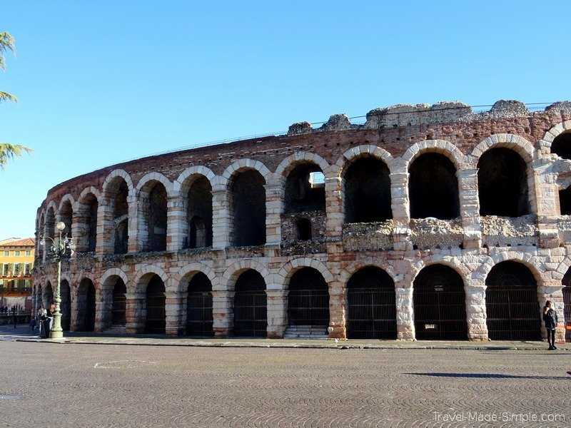 one week in Italy itinerary Verona