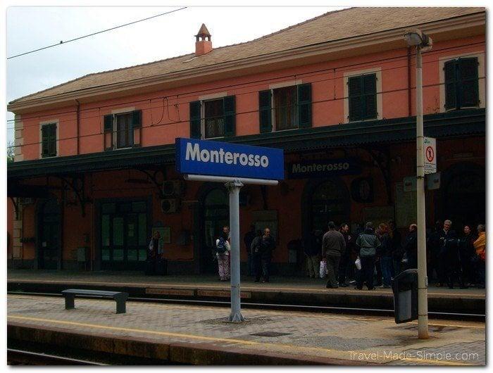 train travel in Italy