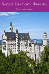 Simple Germany Itinerary