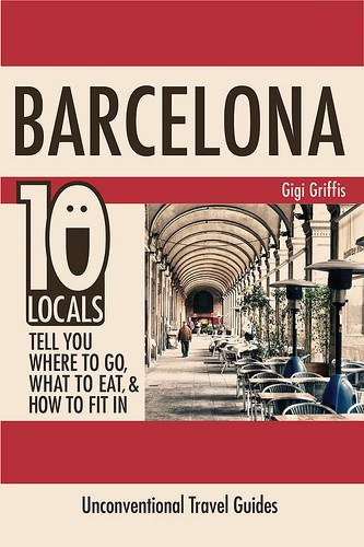 things to do in Barcelona - Barcelona locals book cover