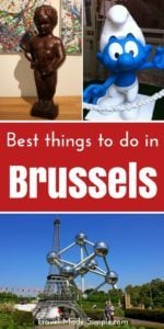 Whether you have one day in Brussels or a full week, you'll enjoy your time. Here's what to do in Brussels including fun things to do in Brussels, Belgium. Brussels tourist attractions | things to do in Brussels