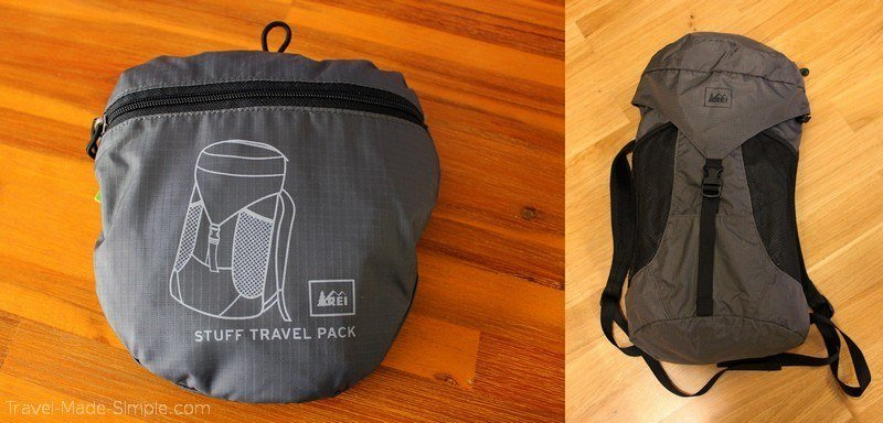 travel resources - REI stuff bag