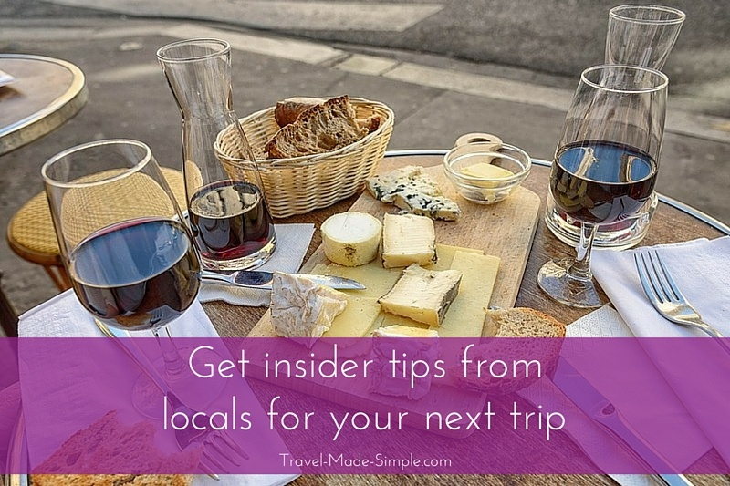 Get insider advice from locals for your next trip
