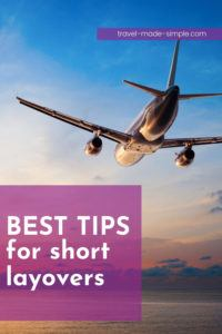 Flying can be a hassle, but short layovers are the worst, right? If you get stuck with a short layover, you need our best tips for short layovers. Read here to learn what to do to avoid missing your connecting flight. | travel tips | flight tips | travel planning | travel hacks