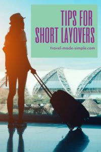 Does your flight itinerary have a short layover? That can be stressful! Check out our tips for short layovers and reduce the chances of missing your connection. | travel tips | flight tips | travel planning | travel hacks