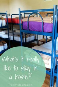 Many people avoid hostels due to misinformation but they can be fun and inexpensive. Give it a try and see what it's really like to stay in a hostel. #hostels #travelplanning #traveltips #budgettravel