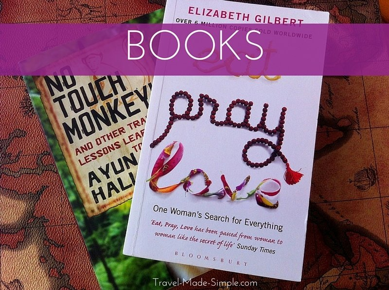 books to help you plan your trip and books to inspire you to travel