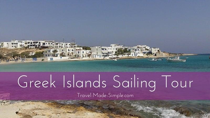 Greek Islands Sailing Tour