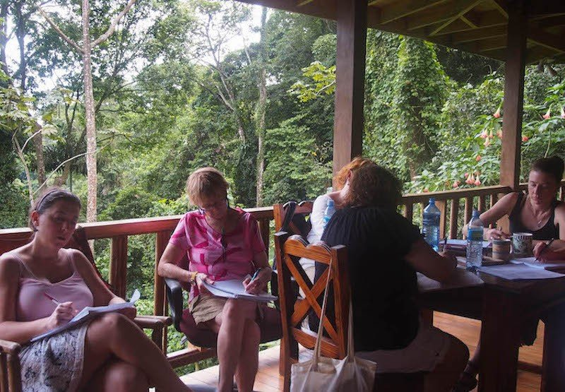 Costa Rica writing retreat for women
