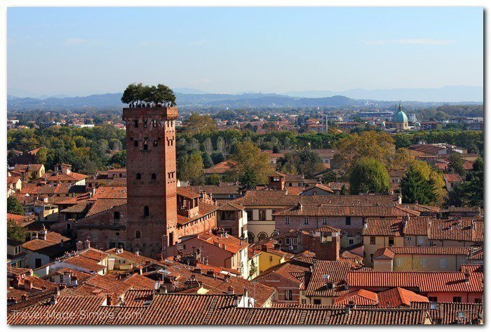 Lucca Italy itinerary