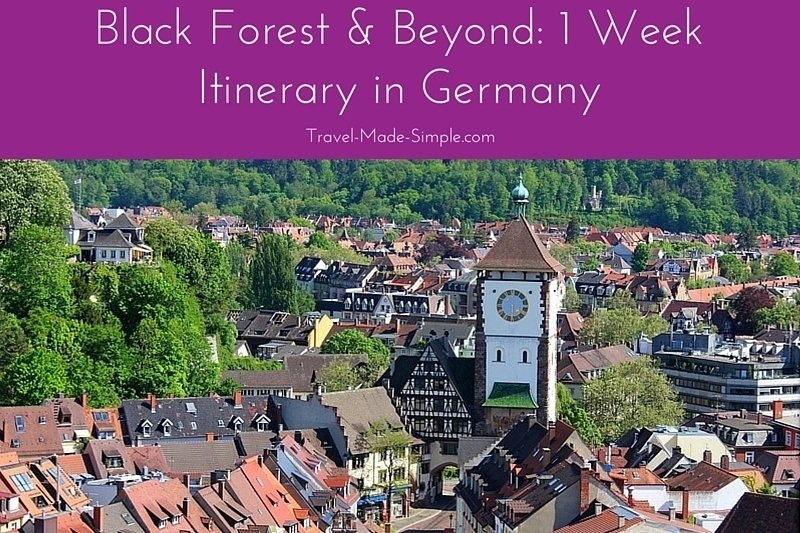Black Forest & Beyond: 1 Week Itinerary in Germany
