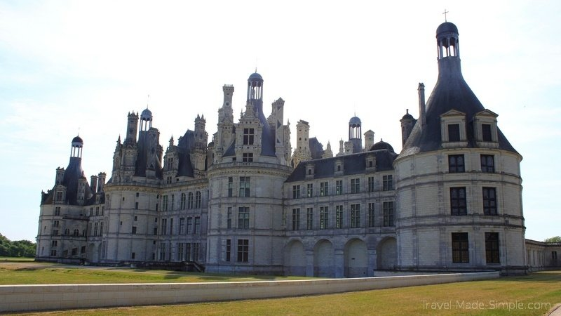 Loire Valley castles tour review - Chateau Chambord