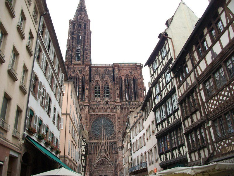 1 week itinerary in the Black Forest - Strasbourg Cathedral