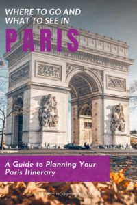 Traveling to Paris is a dream for many people. You don't want to miss out on any of the great attractions the city has to offer. Read our guide to planning your Paris itinerary for all the best tips. | Paris itinerary | Paris vacation | Paris travel tips | things to do in Paris | how to plan a trip to Paris