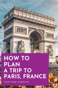 Before you book your trip to Paris, read our post about how to plan a trip to Paris loaded with tips to help you have an enjoyable vacation. Learn which sights to see and which day tours we recommend, plus tons more advice for your Paris itinerary. | Paris itinerary | Paris vacation | Paris travel tips | things to do in Paris | how to plan a trip to Paris