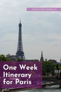 Check out our one week itinerary for Paris. All our Paris travel tips are in one place to help you go on the best vacation. Includes day trips and tours we recommend too! | Paris itinerary | Paris vacation | Paris travel tips | things to do in Paris | how to plan a trip to Paris