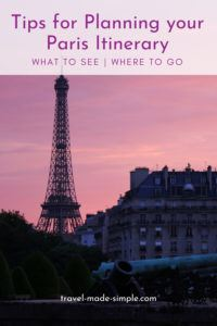 There are so many things to do in Paris you could easily spend a week there and not see it all. We've put all our best tips for planning a Paris vacation into this blog post, so check it out and get ready to travel to Paris. | Paris itinerary | Paris vacation | Paris travel tips | things to do in Paris | how to plan a trip to Paris